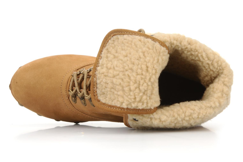 Bottines et boots No Name Mikonos boots fur Beige vue haut