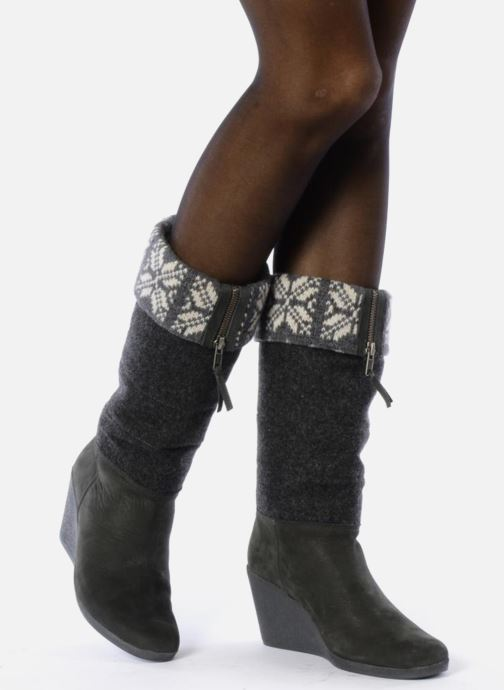 Boots & wellies No Name Choko ski bottes Grey view from underneath / model view