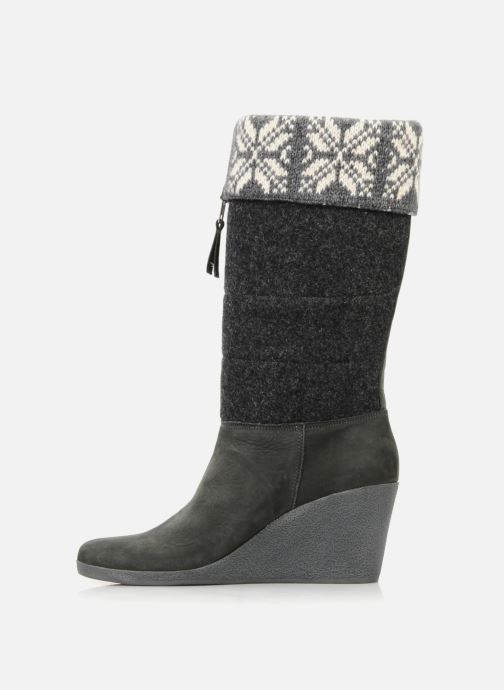 Boots & wellies No Name Choko ski bottes Grey front view