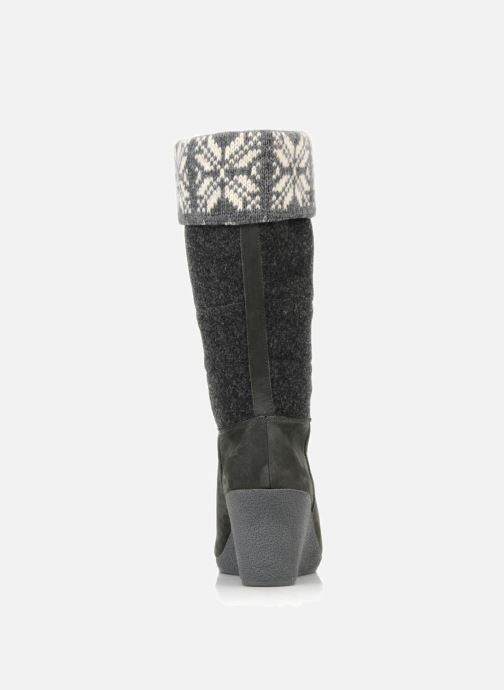 Boots & wellies No Name Choko ski bottes Grey view from the right