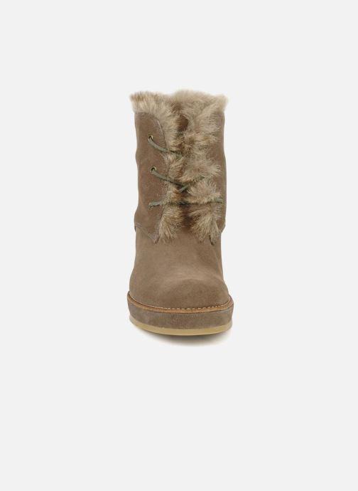 Bottines et boots No Name New aki crepe desert botte Beige vue portées chaussures