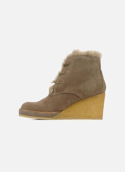 Ankle boots No Name New aki crepe desert botte Beige front view