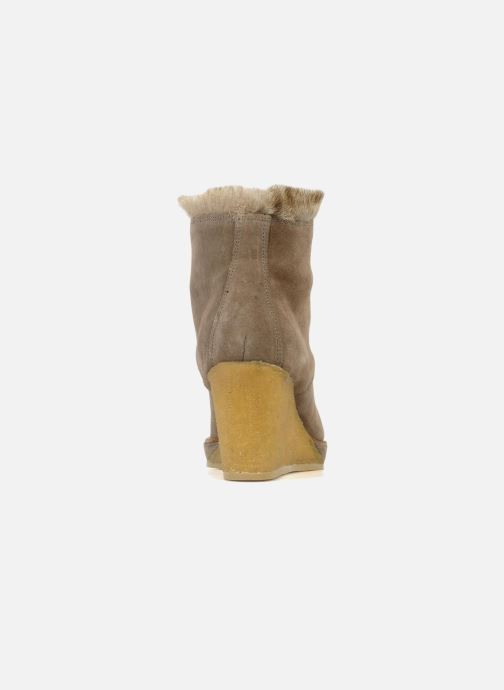 Boots en enkellaarsjes No Name New aki crepe desert botte Beige rechts