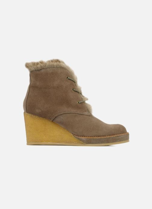 Ankle boots No Name New aki crepe desert botte Beige back view