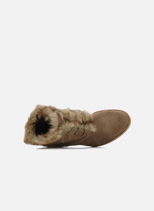 Bottines et boots No Name New aki crepe desert botte Beige vue gauche