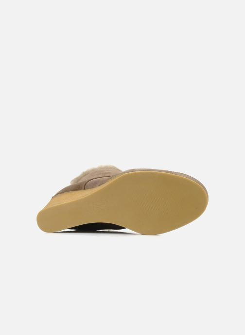 Ankle boots No Name New aki crepe desert botte Beige view from above