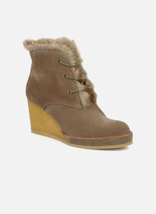 Ankle boots No Name New aki crepe desert botte Beige detailed view/ Pair view