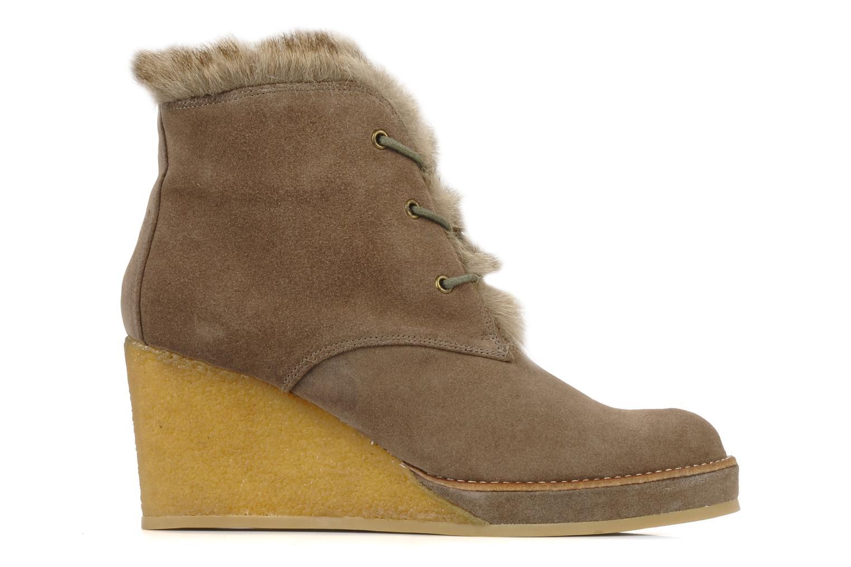 Bottines et boots No Name New aki crepe desert botte Beige vue derrière