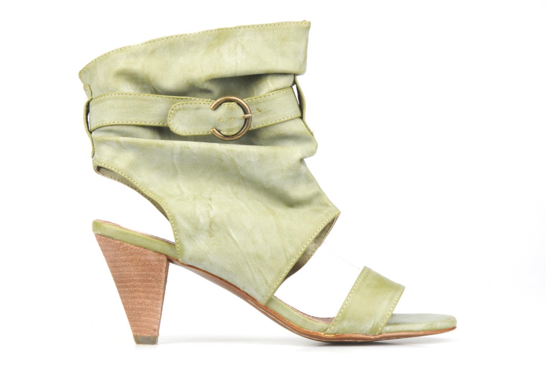 Sandales et nu-pieds Spot On Marila Vert vue derrière