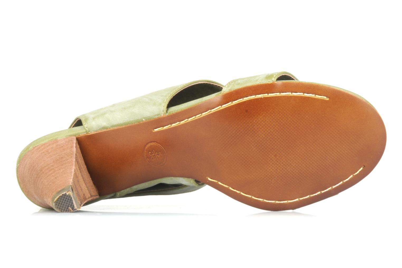 Sandales et nu-pieds Spot On Marila Vert vue haut