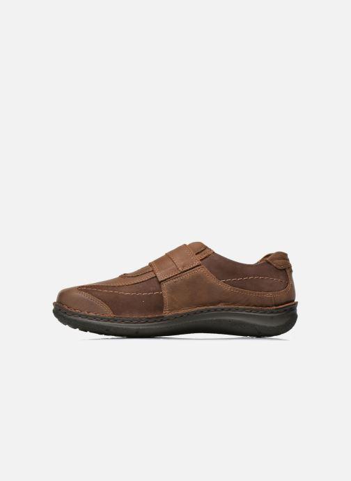 Zapatos con velcro Josef Seibel Alec Marrón vista de frente