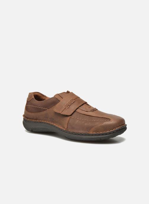 Zapatos con velcro Josef Seibel Alec Marrón vista de detalle / par