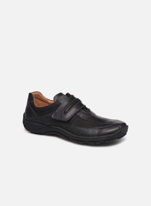 Lace-up shoes Josef Seibel Arthur Black detailed view/ Pair view