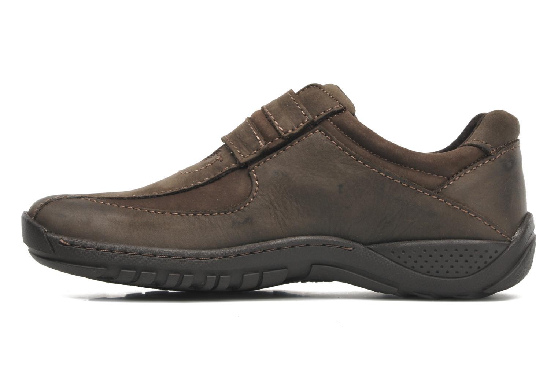Chaussures à lacets Josef Seibel Arthur Marron vue face