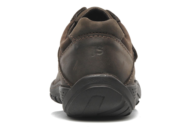 Chaussures à lacets Josef Seibel Arthur Marron vue droite