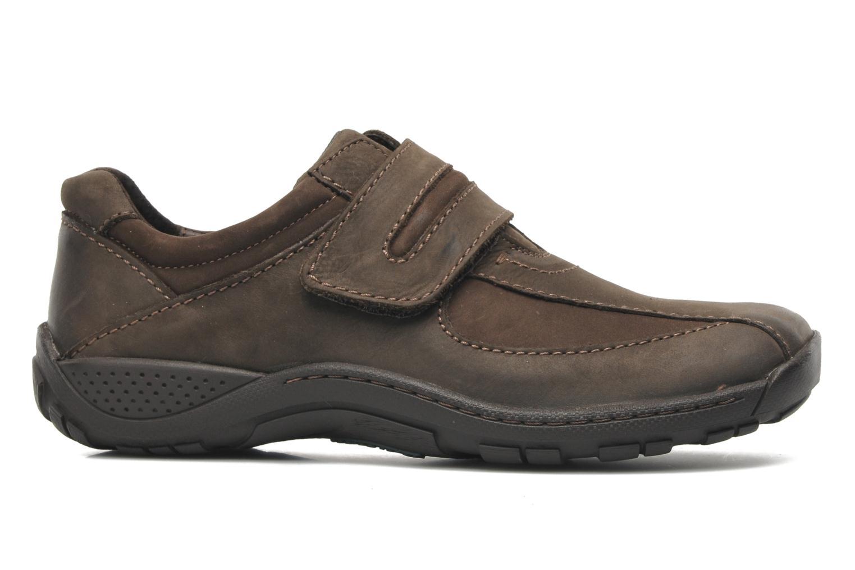 Chaussures à lacets Josef Seibel Arthur Marron vue derrière