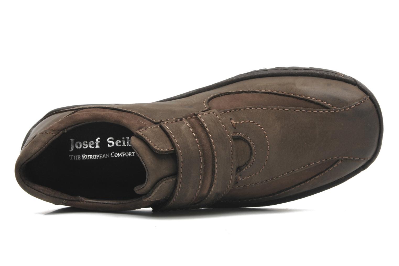 Chaussures à lacets Josef Seibel Arthur Marron vue gauche