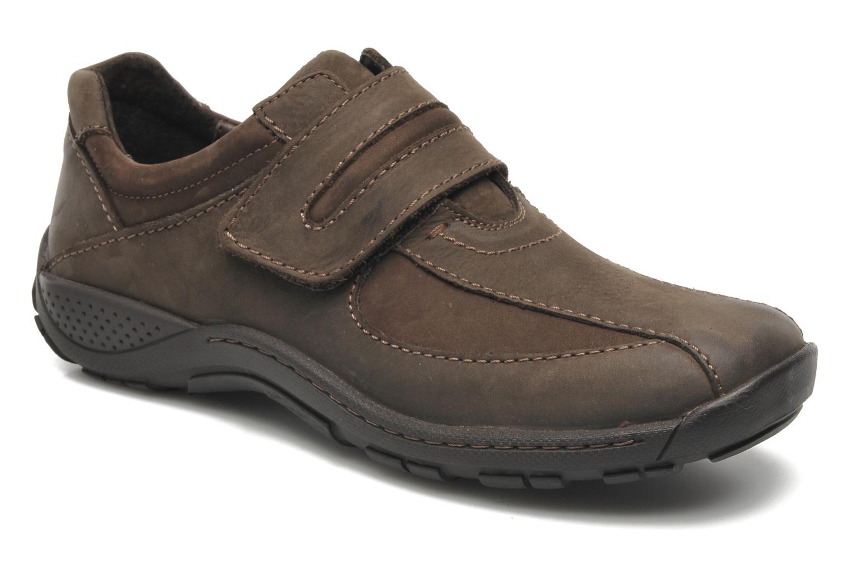 Chaussures à lacets Josef Seibel Arthur Marron vue détail/paire