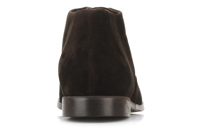 Bottines et boots Georgia Rose Nonou Marron vue droite