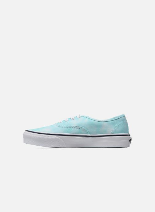 Sneakers Vans Authentic E Azzurro immagine frontale
