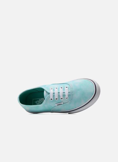 Sneakers Vans Authentic E Azzurro immagine sinistra