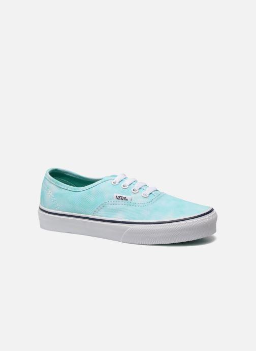 vans grise et bleu turquoise