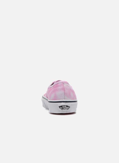 Sneakers Vans Authentic E Roze rechts