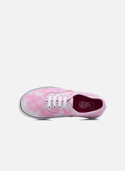 Sneakers Vans Authentic E Rosa immagine sinistra