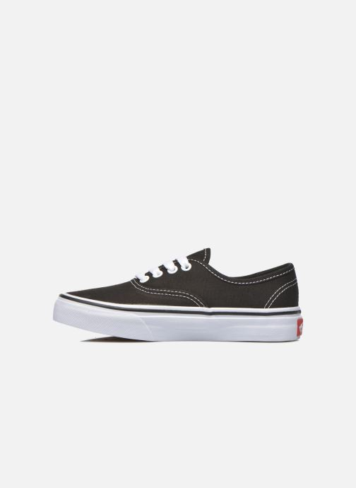 Baskets Vans Authentic E Noir vue face