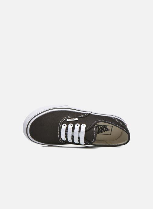 Baskets Vans Authentic E Noir vue gauche