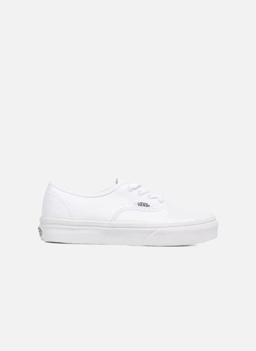 Baskets Vans Authentic E Blanc vue derrière