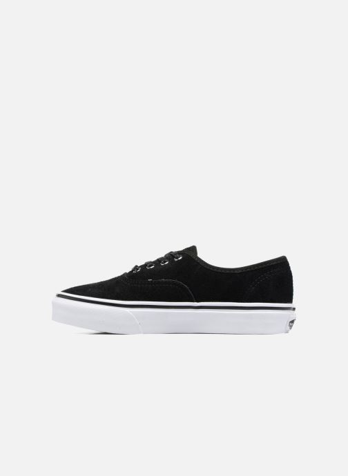Deportivas Vans Authentic E Negro vista de frente