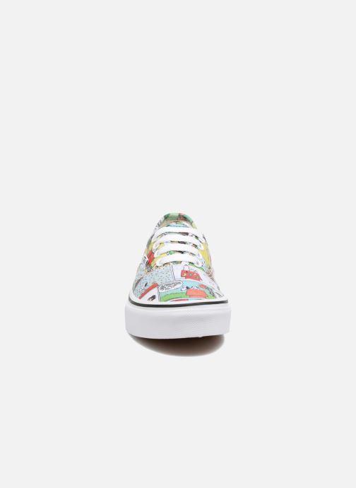 Sneakers Vans Authentic E Multicolore modello indossato