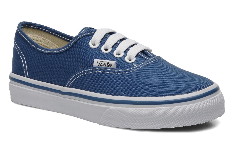 Baskets Vans Authentic E Bleu vue détail/paire