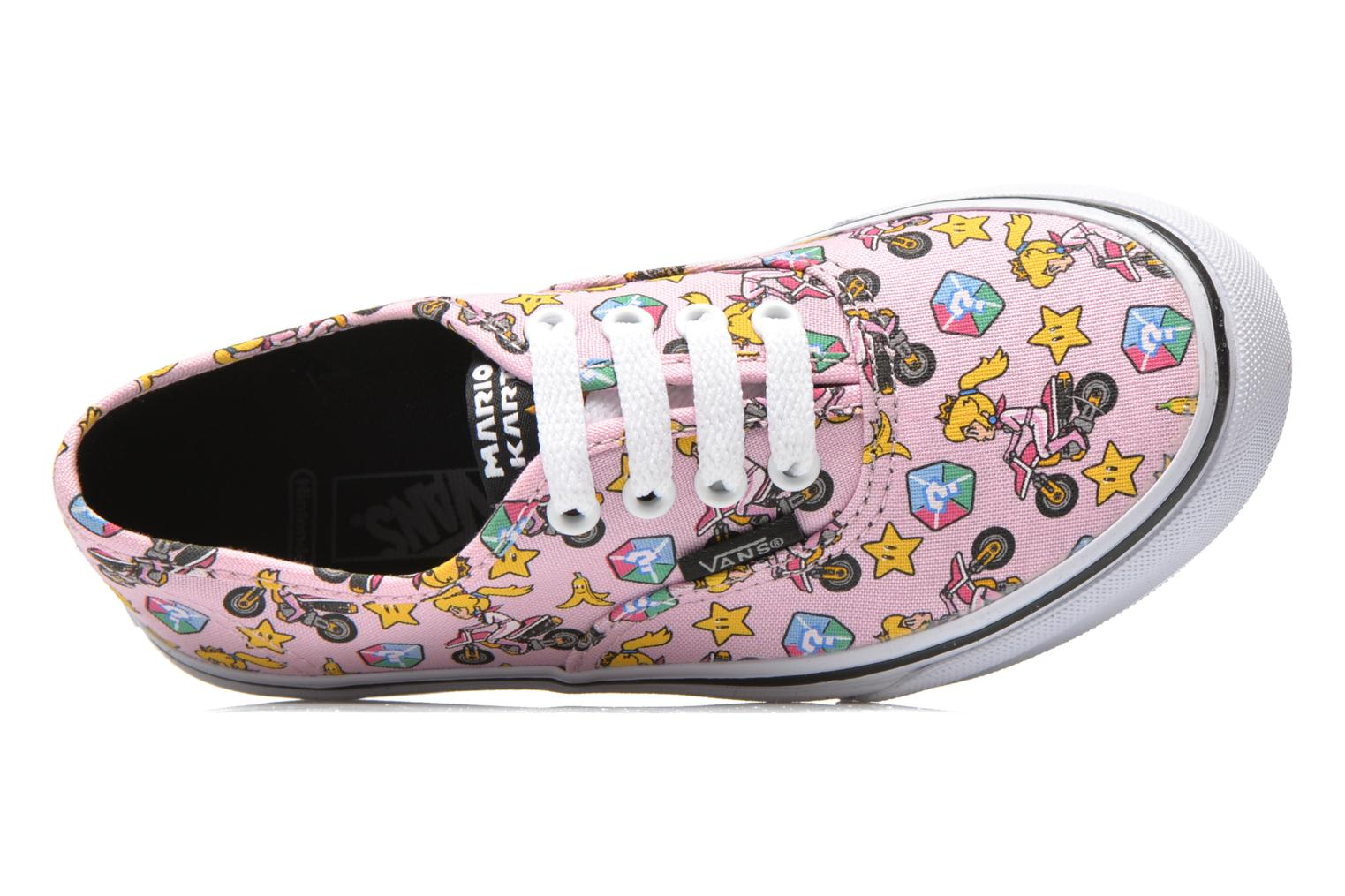 Baskets Vans Authentic E Rose vue gauche