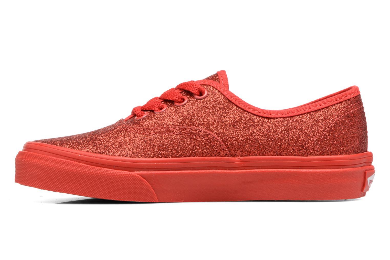 Baskets Vans Authentic E Rouge vue face