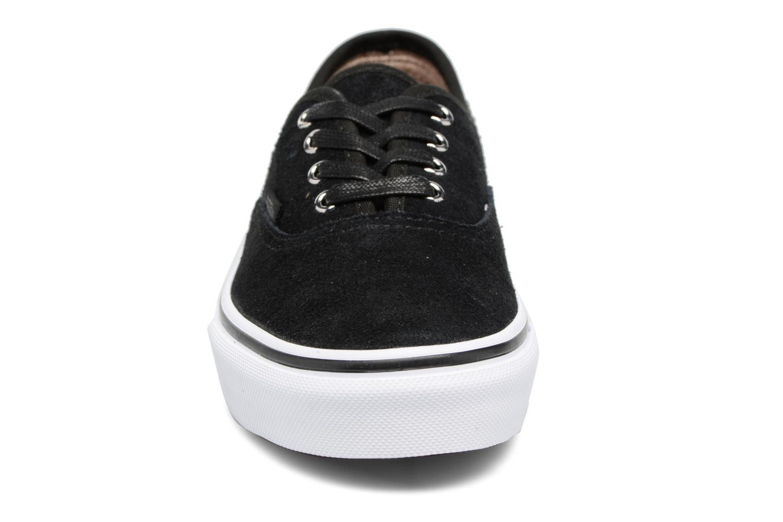 Baskets Vans Authentic E Noir vue portées chaussures