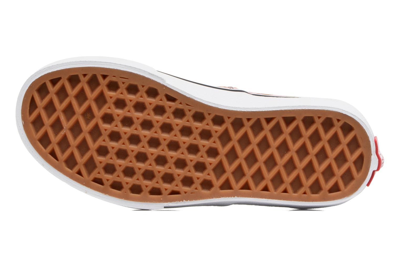 Baskets Vans Authentic E Rose vue haut