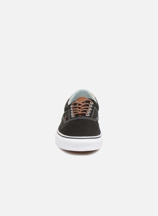 Sneaker Vans Era 59 schwarz schuhe getragen