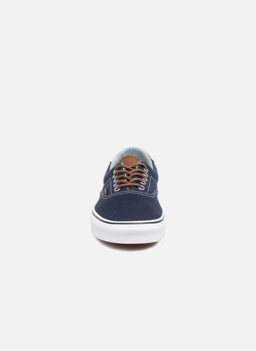 Baskets Vans Era 59 Bleu vue portées chaussures