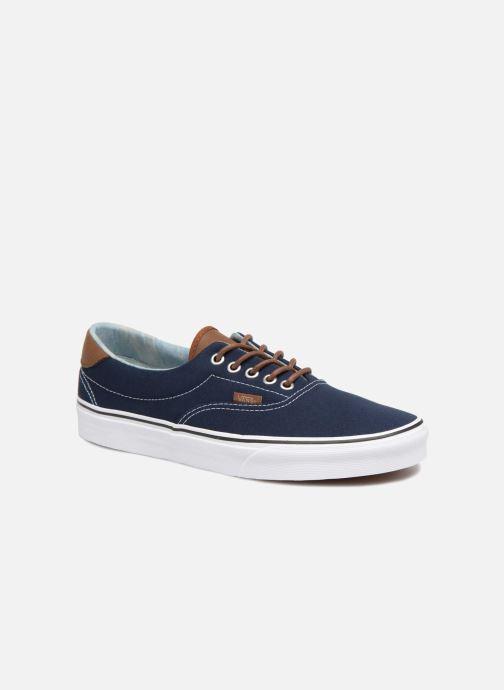 hot sale online 08707 5ec34 Baskets Vans Era 59 Bleu vue détail paire