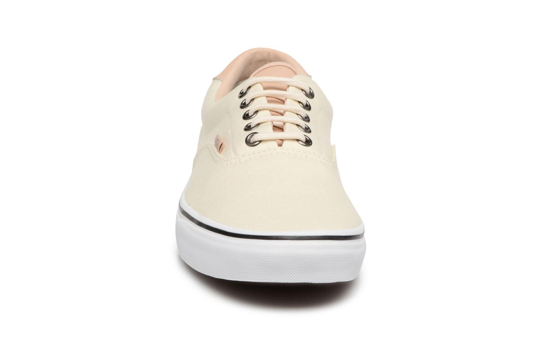 Baskets Vans Era 59 Blanc vue portées chaussures