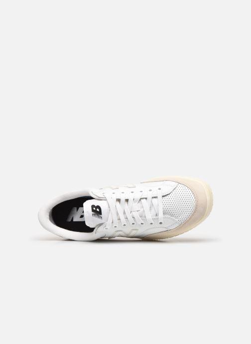 Baskets New Balance Proct Blanc vue gauche