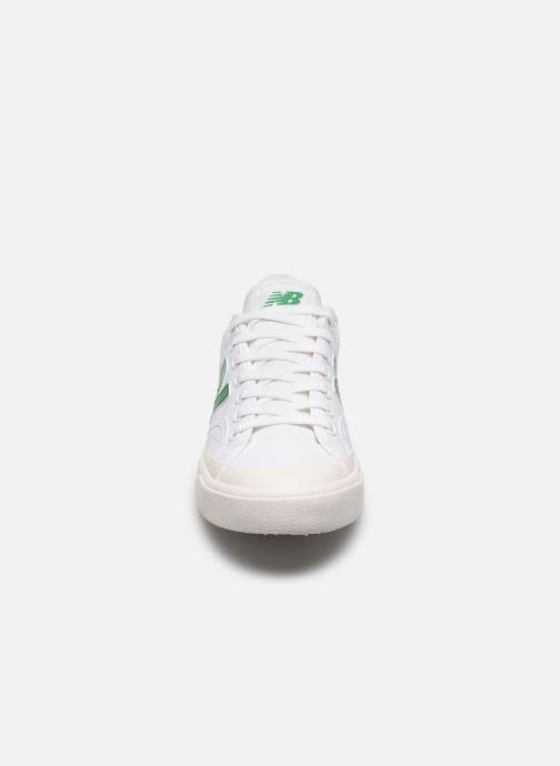 Baskets New Balance Proct Blanc vue portées chaussures
