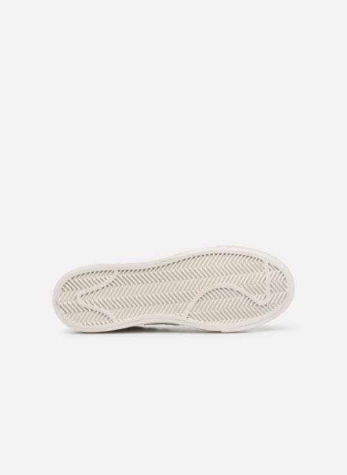 Baskets New Balance Proct Blanc vue haut