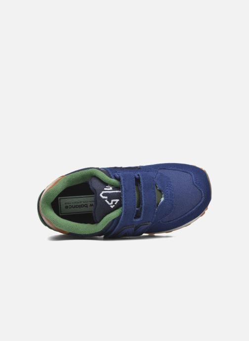 Baskets New Balance Kv574NEI Bleu vue gauche