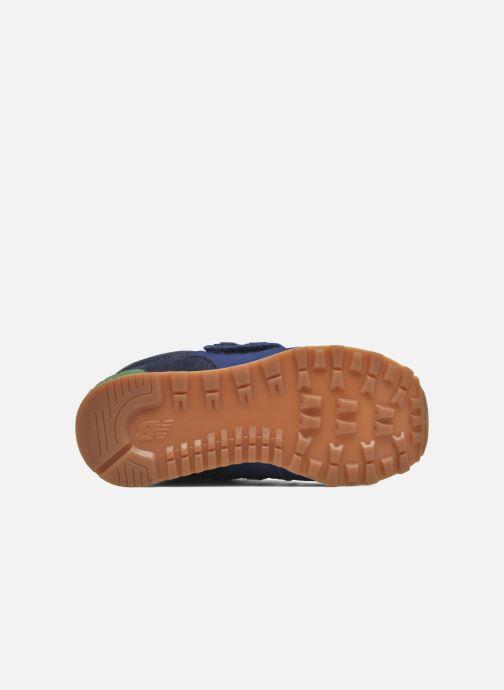 Baskets New Balance Kv574NEI Bleu vue haut