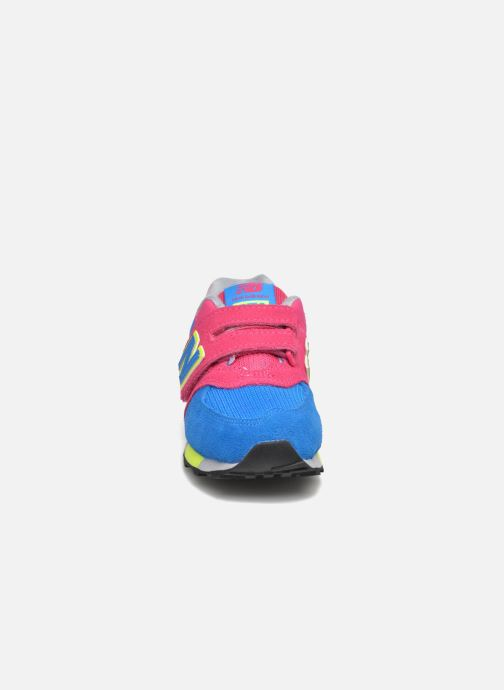 Baskets New Balance Kv574NEI Rose vue portées chaussures