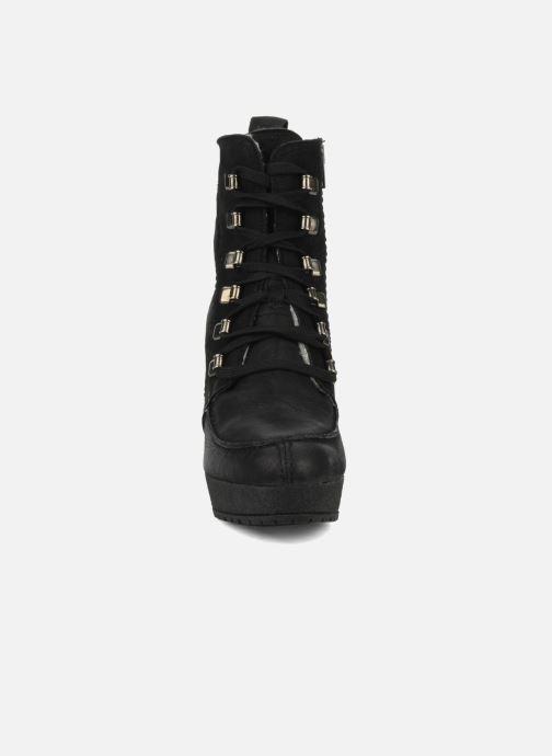 Bottines et boots Carvela Sasha Noir vue portées chaussures