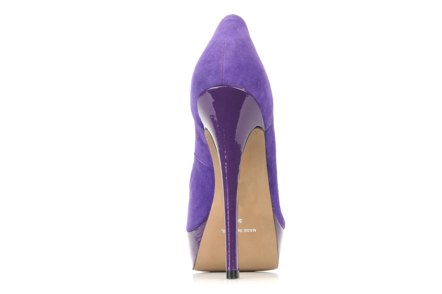 High heels Carvela Alma Purple view from the right
